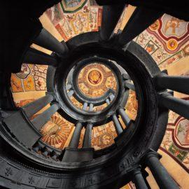 Ahmet Ertug-Villa Farnese Royal Stairs, Caprorola, Italy-2017