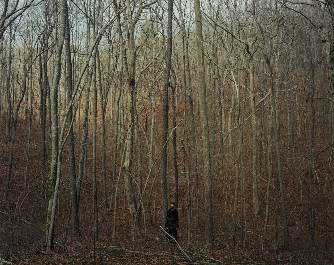 Alec Soth-2006_03Zl0016 (Monk In Woods)-2006