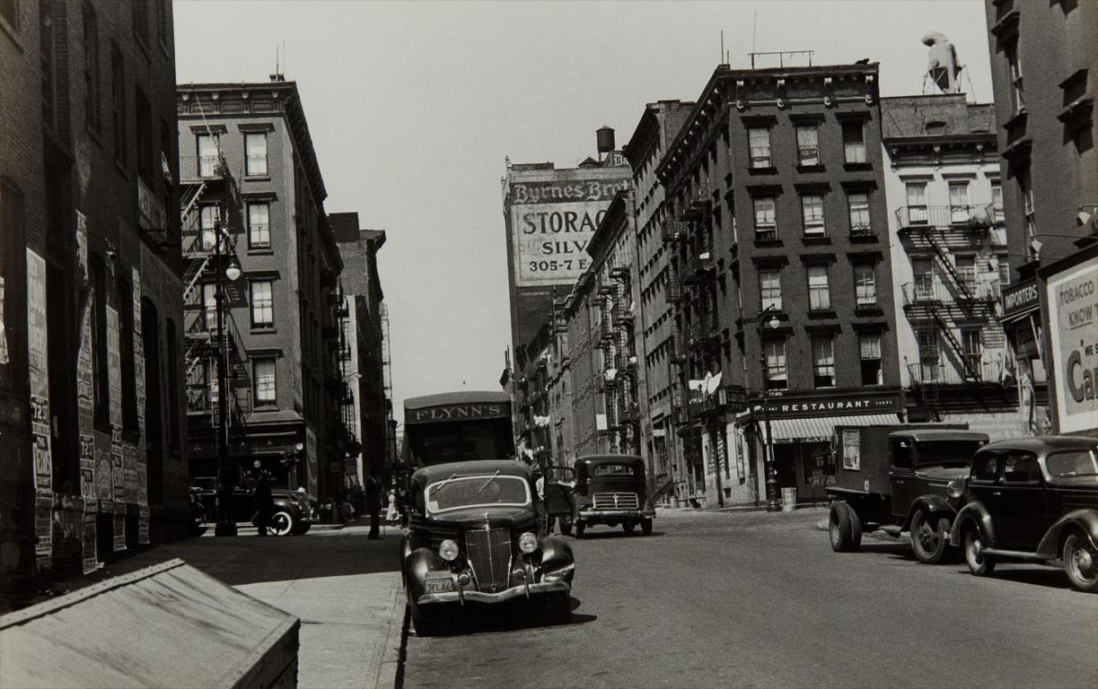 Walker Evans-First Avenue And East 61St Street, New York-1938