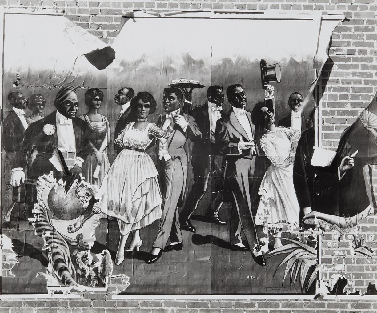 Walker Evans-Minstrel Showbill-1936