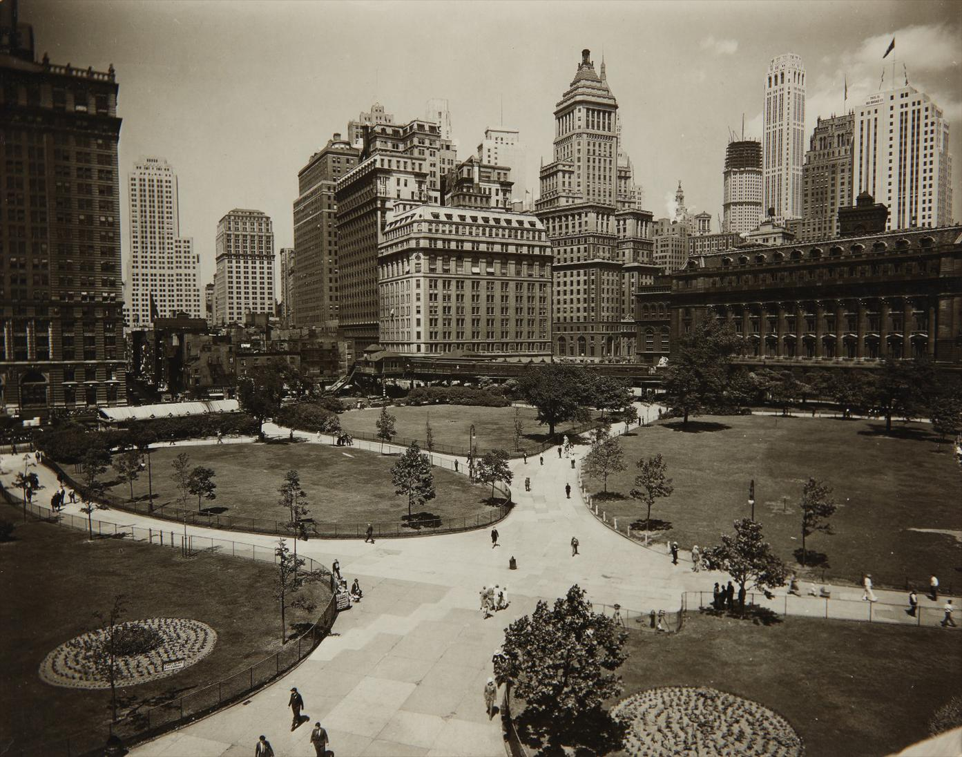 Berenice Abbott-Battery Park-1930