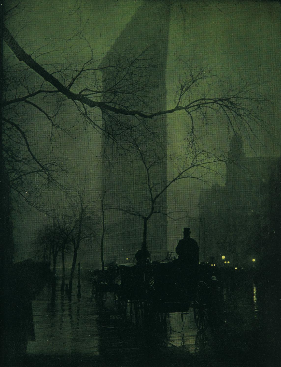 Edward Steichen-The Flatiron - Evening-1905