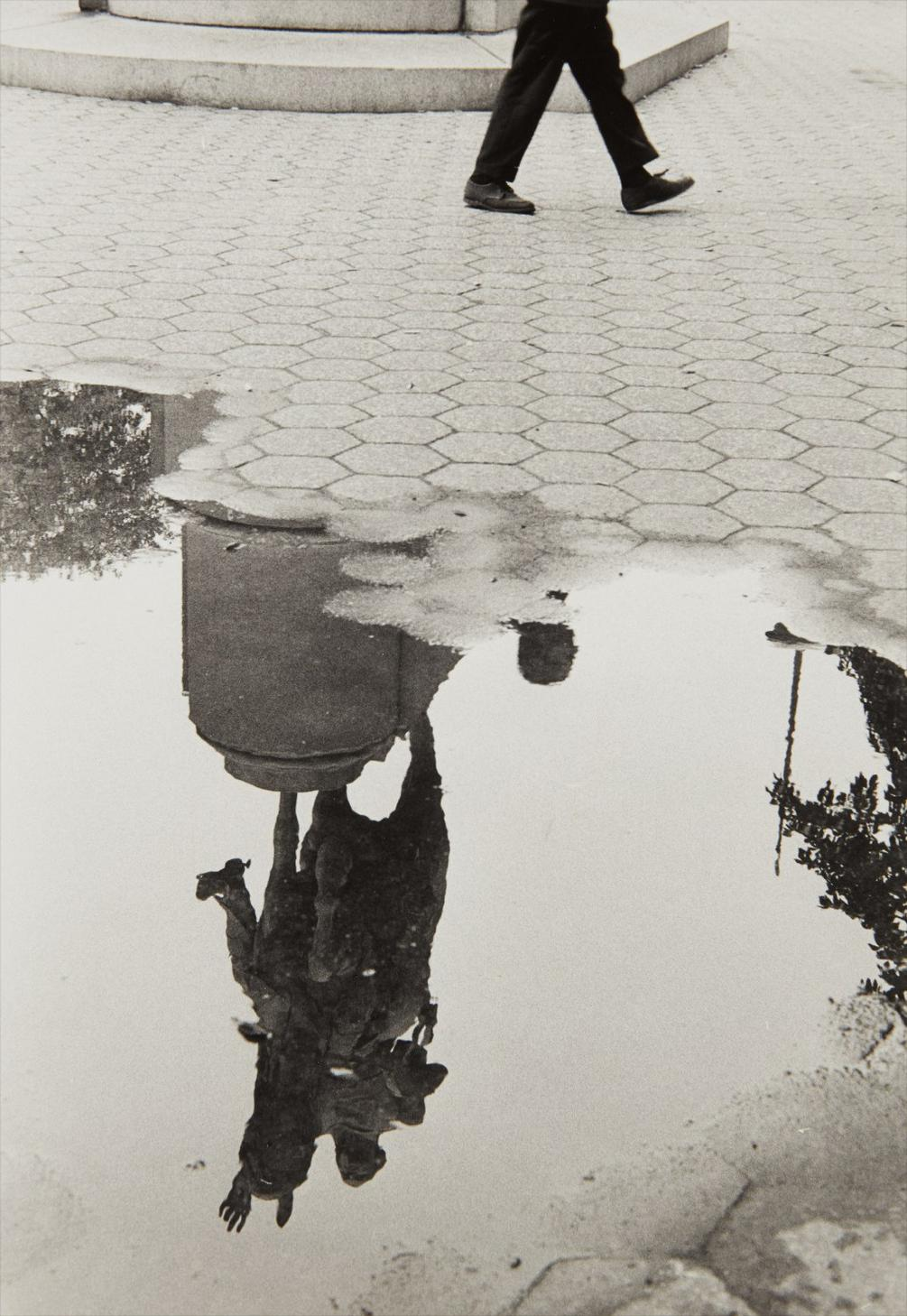Andre Kertesz-Washington Square After Rain-1970