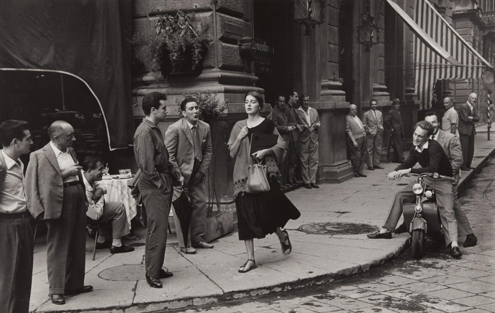 Ruth Orkin-American Girl In Italy-1952