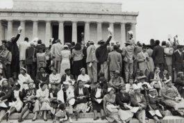 Henri Cartier-Bresson-Civil Rights Demonstration, Washington, D.C.-1957
