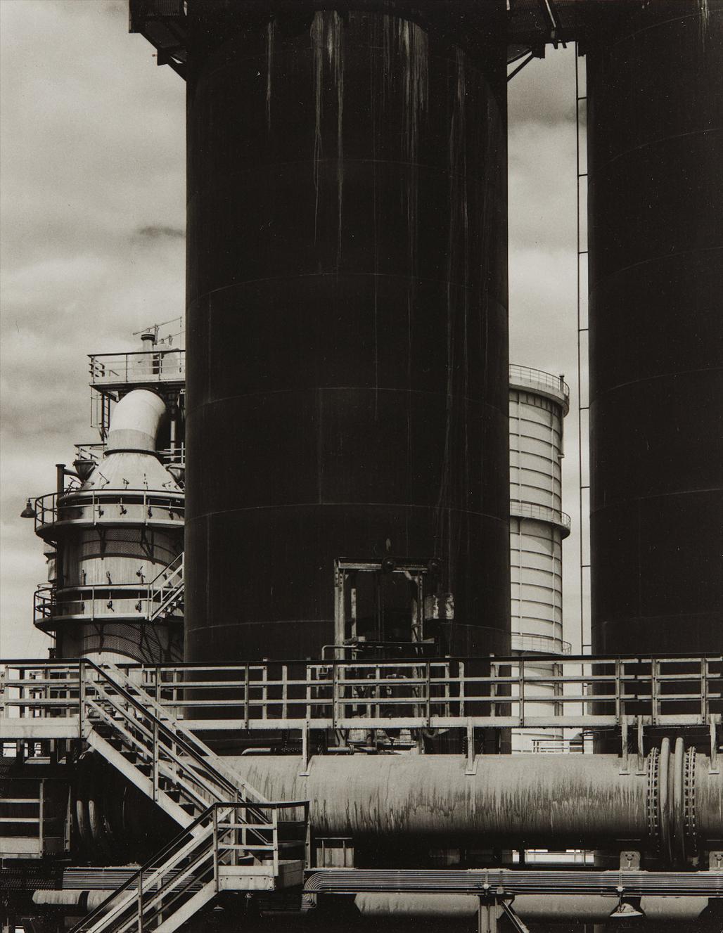 Paul Strand-Steel Mill, Helwan, Egypt-1959