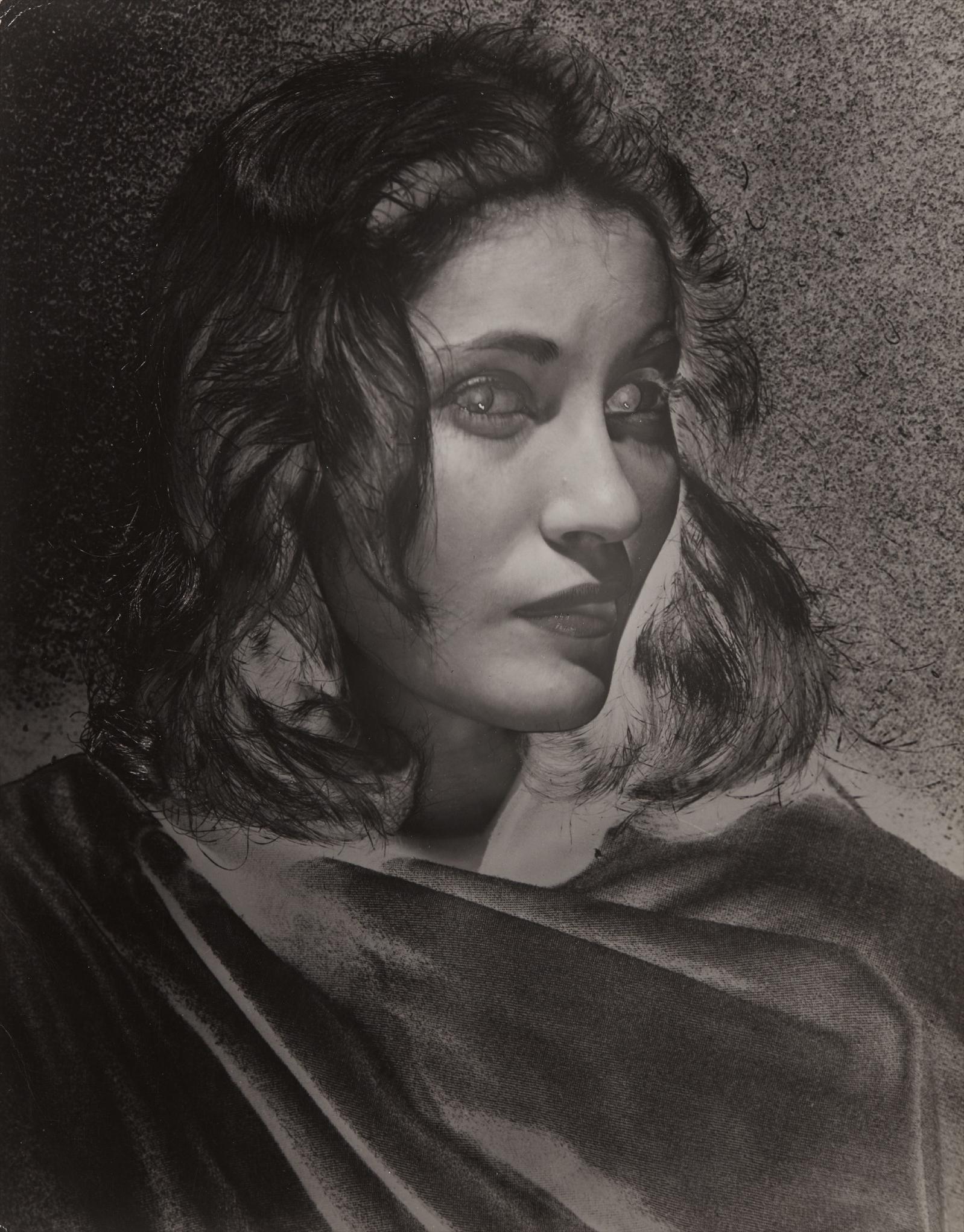 Erwin Blumenfeld-Untitled (Miss Leonardine Da Vinci)-1944