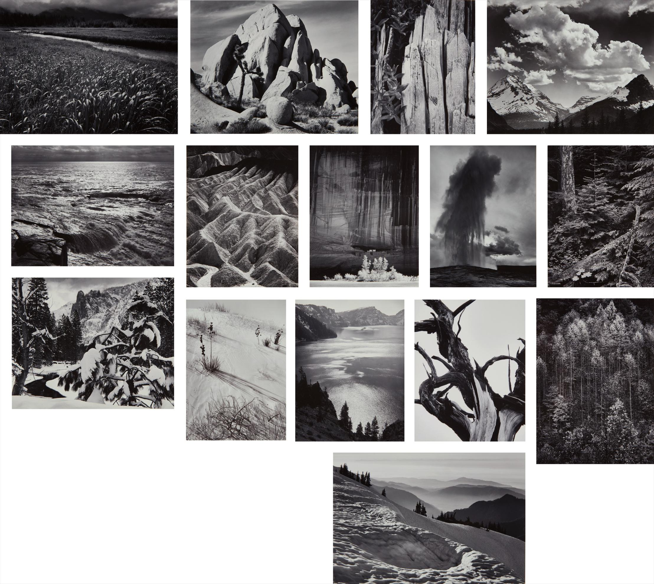 Ansel Adams-Portfolio Two: The National Parks And Monuments-1950