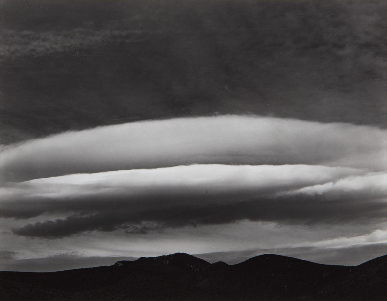 Edward Weston-Cloud, The Panamints, Death Valley-1937