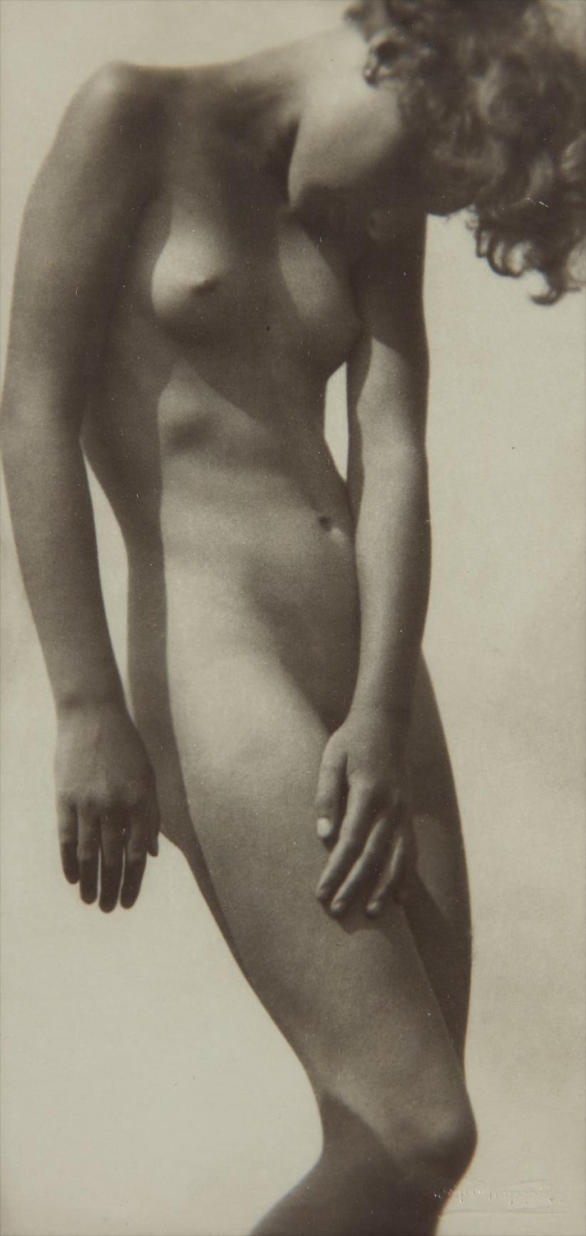 Rudolf Koppitz-Aktstudie (Nude Study)-1927