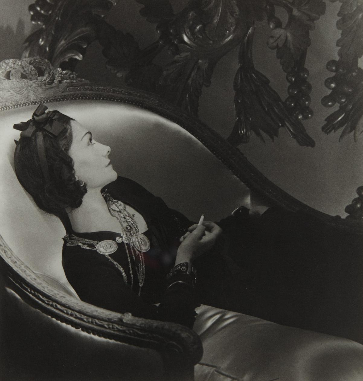 Horst P. Horst-Coco Chanel, Paris-1937