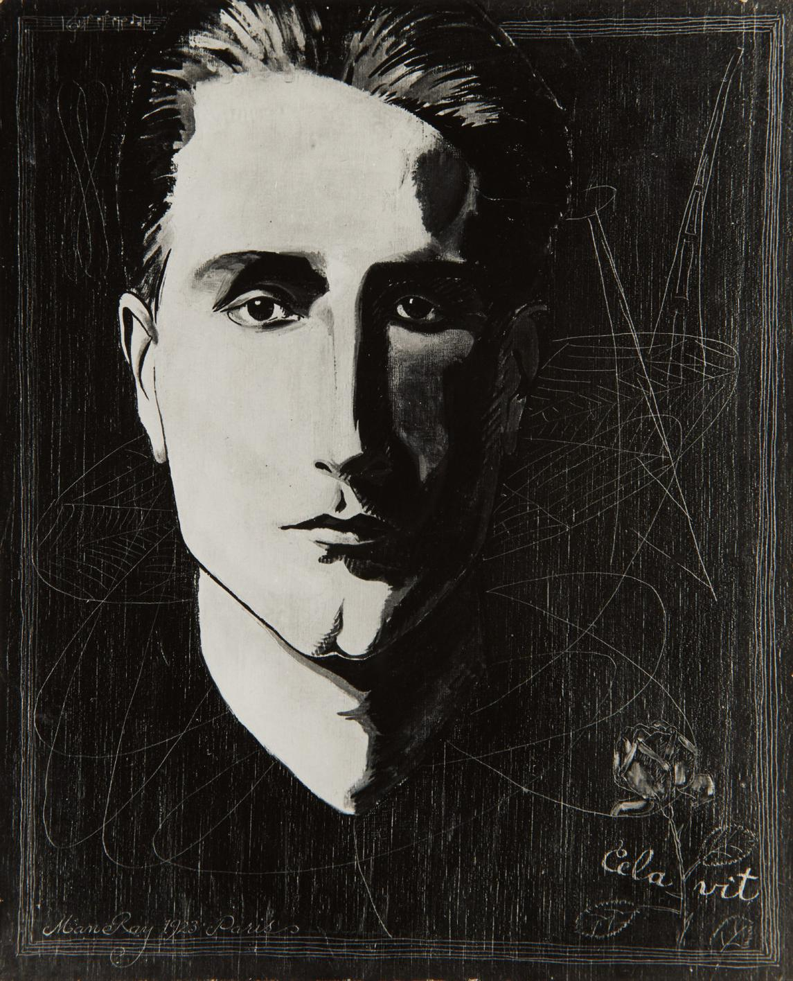 Man Ray-Portrait Of Duchamp-1923