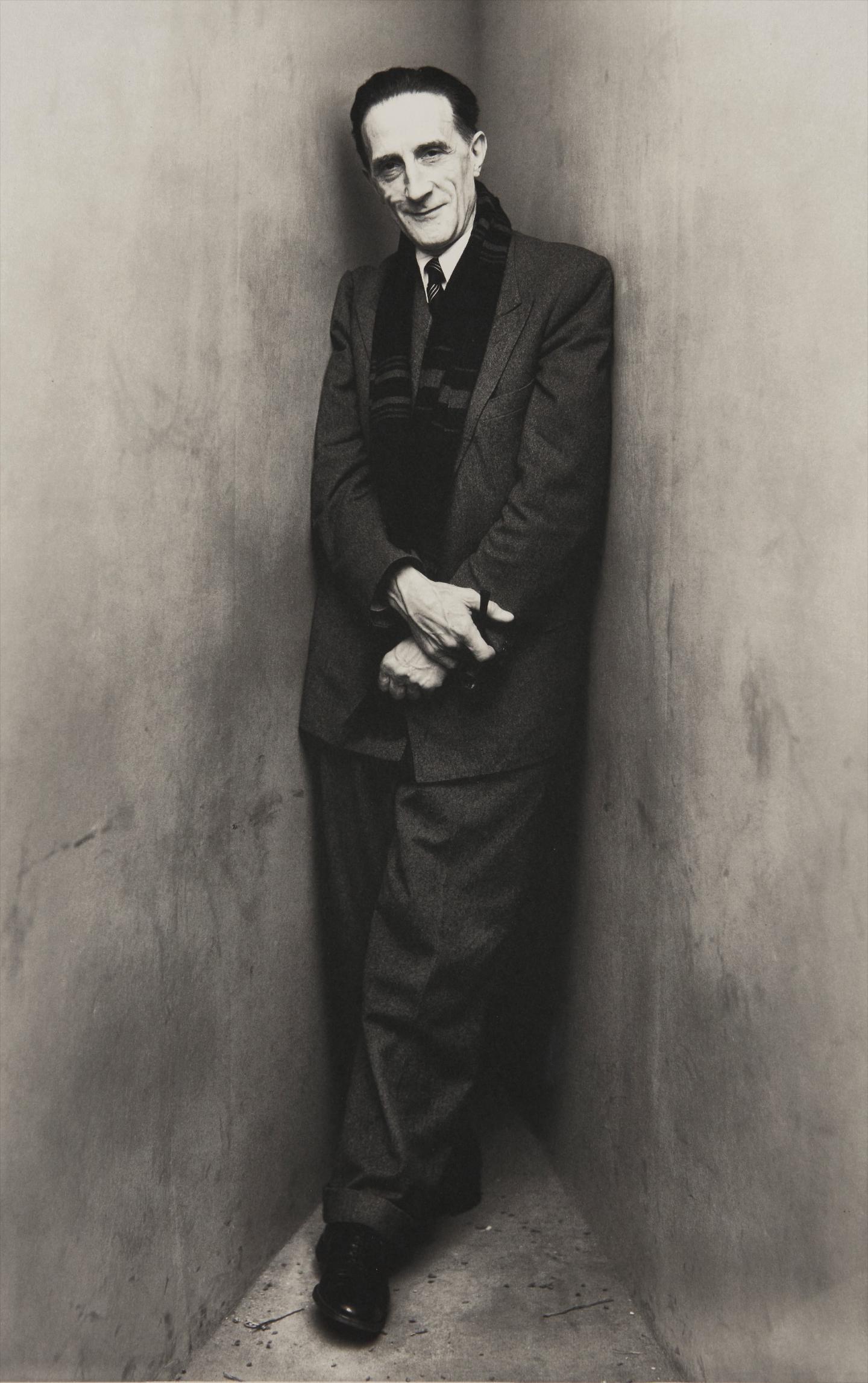 Irving Penn-Marcel Duchamp, New York, April 30-1948