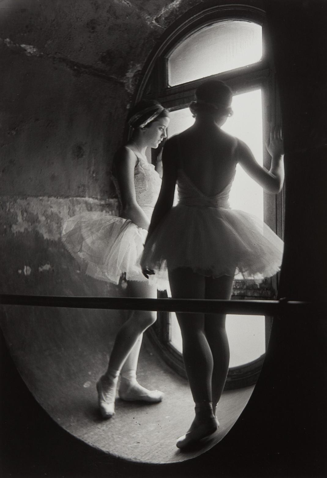 Alfred Eisenstaedt-Swan Lake Rehearsal, Grande Opera De Paris-1930