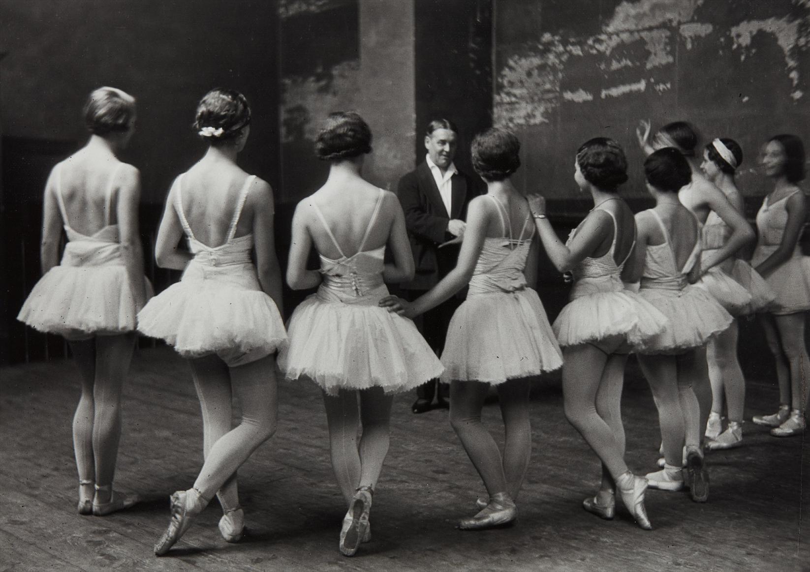 Alfred Eisenstaedt-Swan Lake Ballet Rehearsal At The Paris Opera-1930