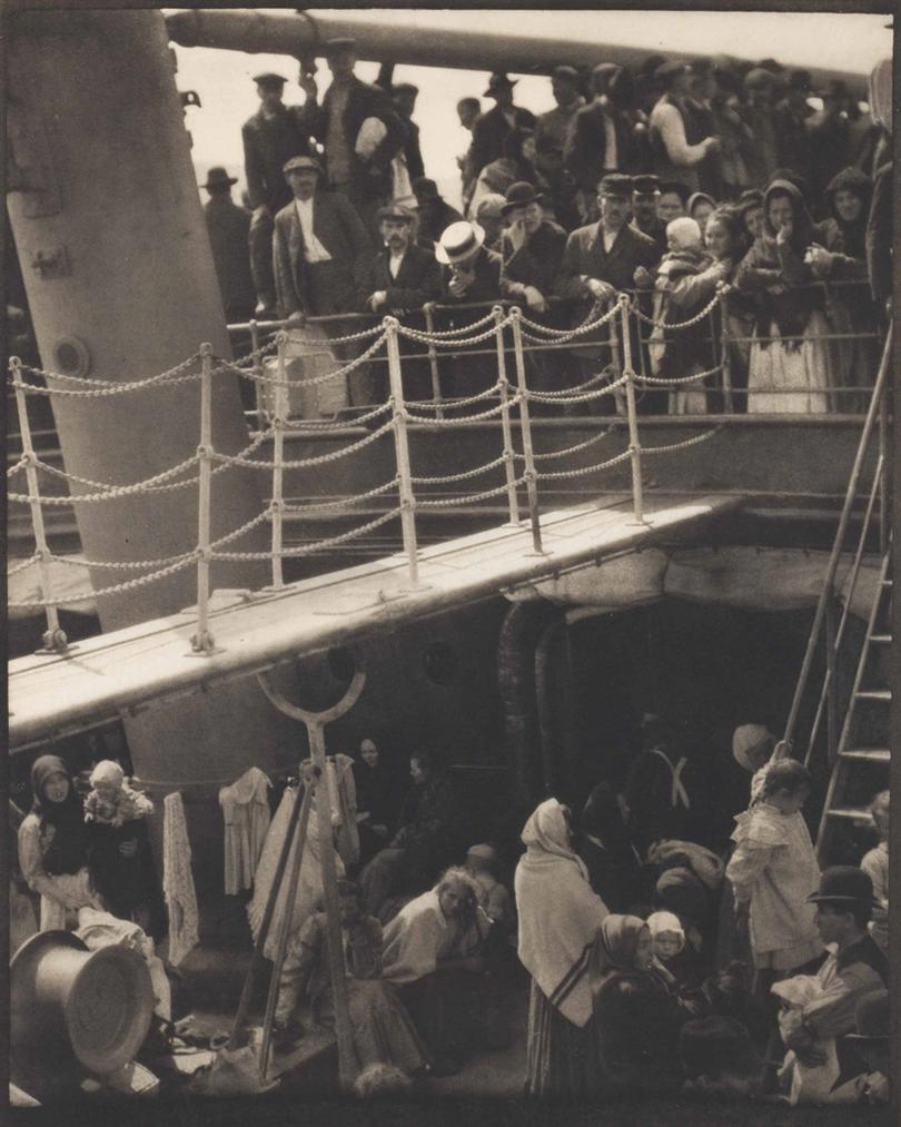 Alfred Stieglitz-The Steerage-1907