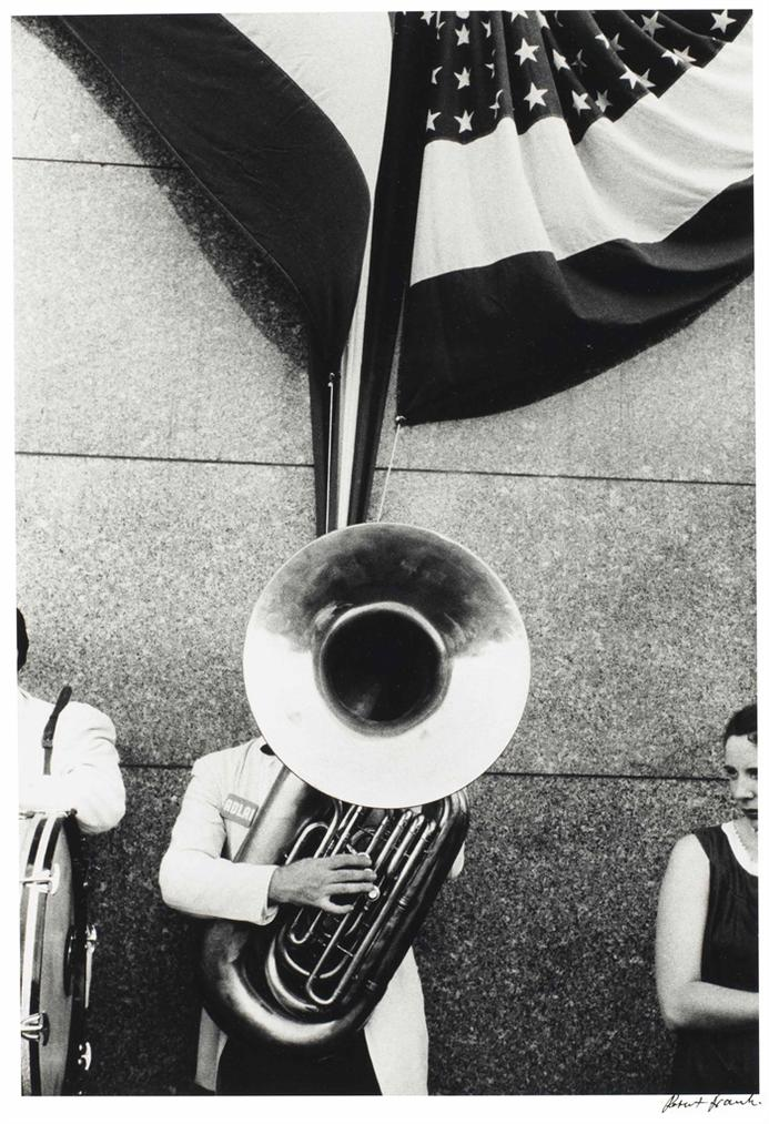 Robert Frank-Political Rally - Chicago-1955