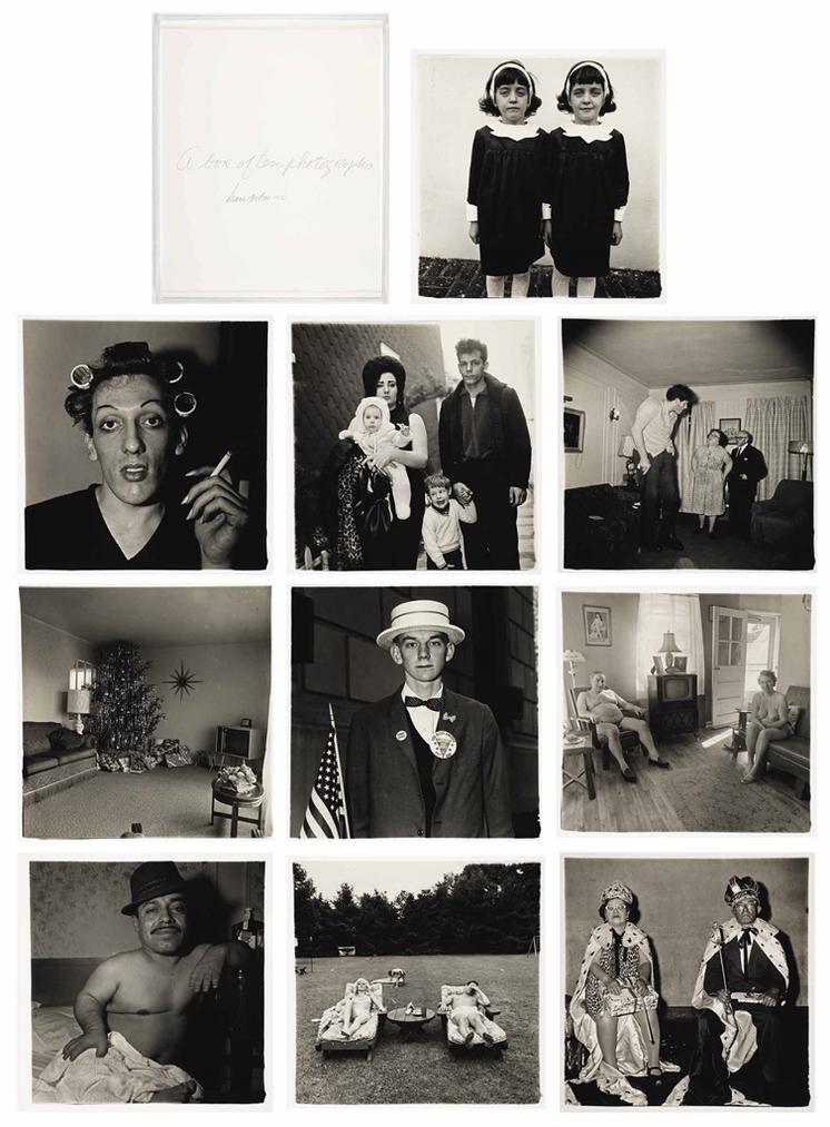 Diane Arbus-A Box Of Ten Photographs-