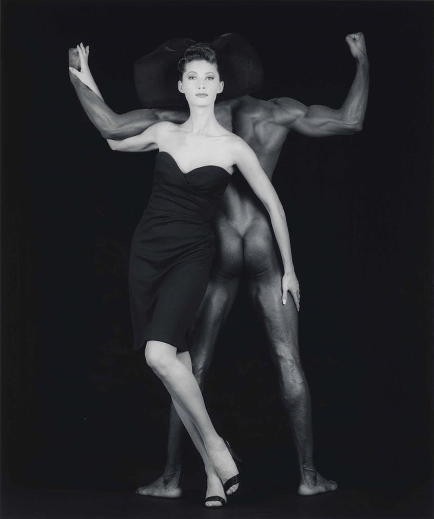 Robert Mapplethorpe-Thomas And Tara-1986