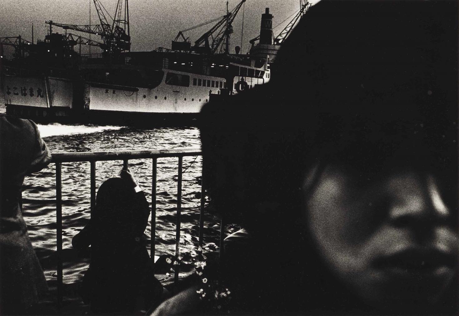 Daido Moriyama-Port With Ship, From Hunter-1972