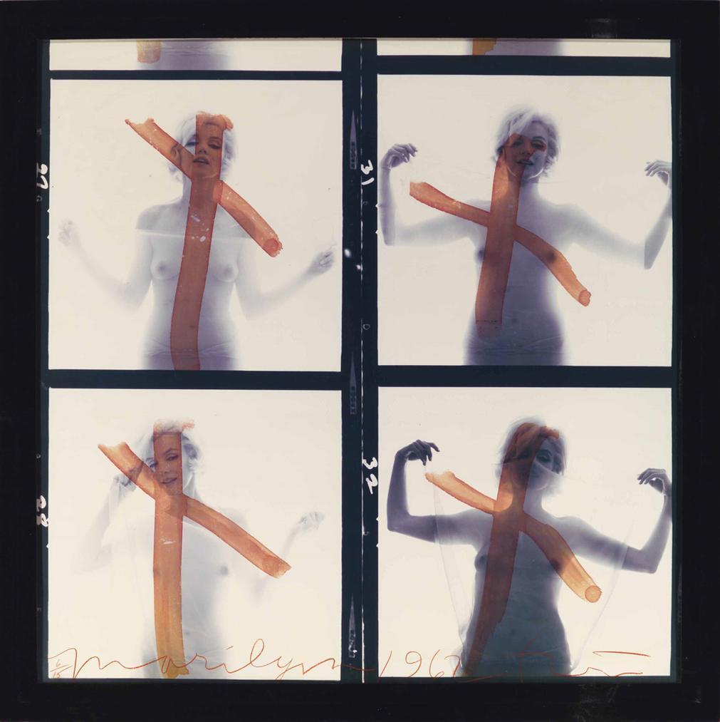 Bert Stern-Marilyn Monroe - Crucifix IV, 1962-1962