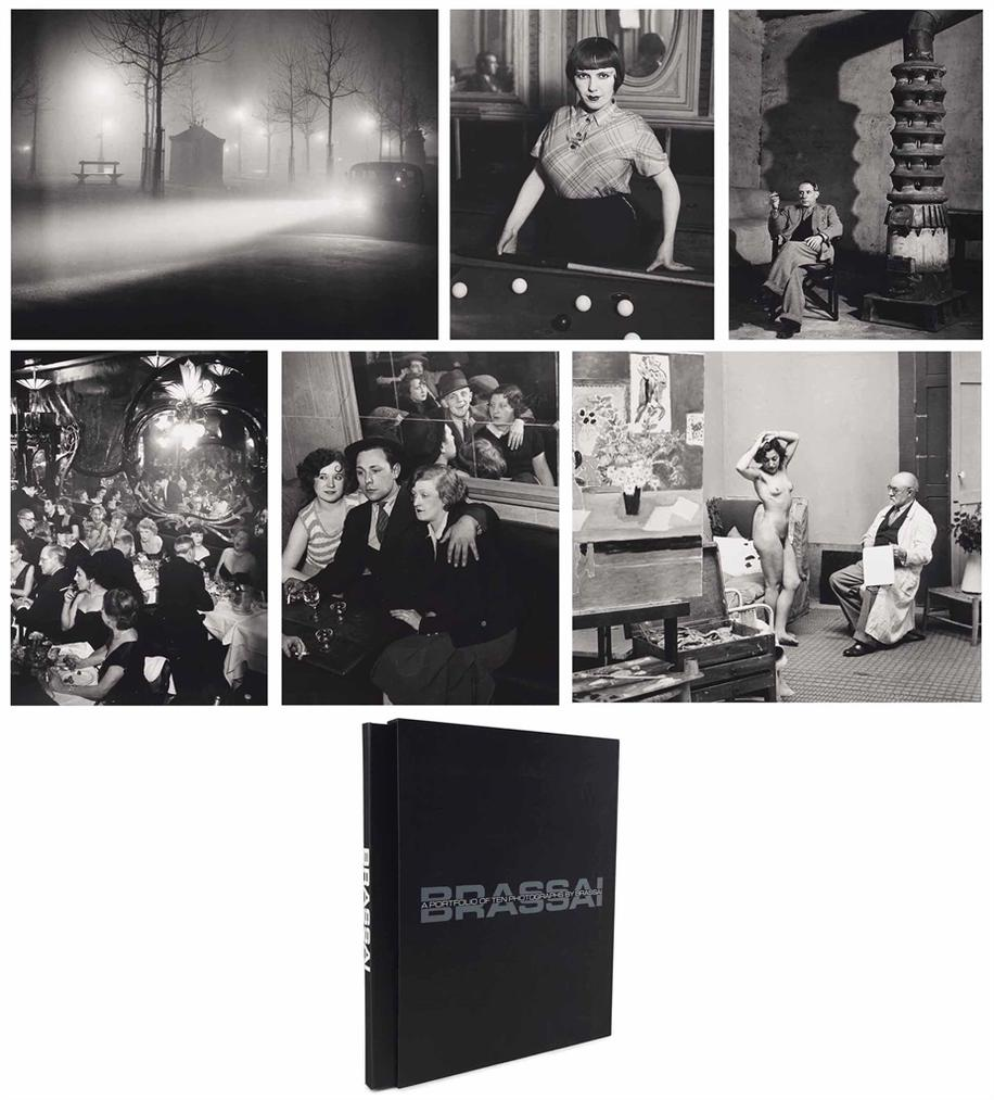 Brassai-A Portfolio Of Ten Photographs By Brassai-