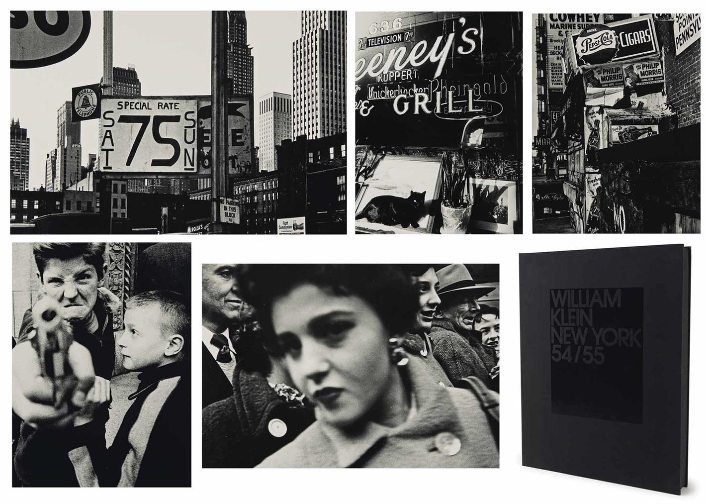 William Klein-William Klein: New York 54/55-