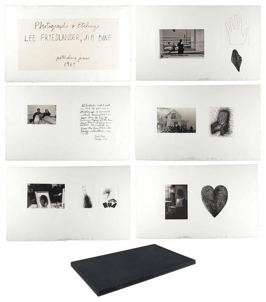 Lee Friedlander-Photographs & Etchings By Lee Friedlander, Jim Dine-