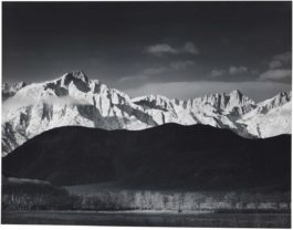 Ansel Adams-Winter Sunrise, Sierra Nevada From Lone Pine California-1944
