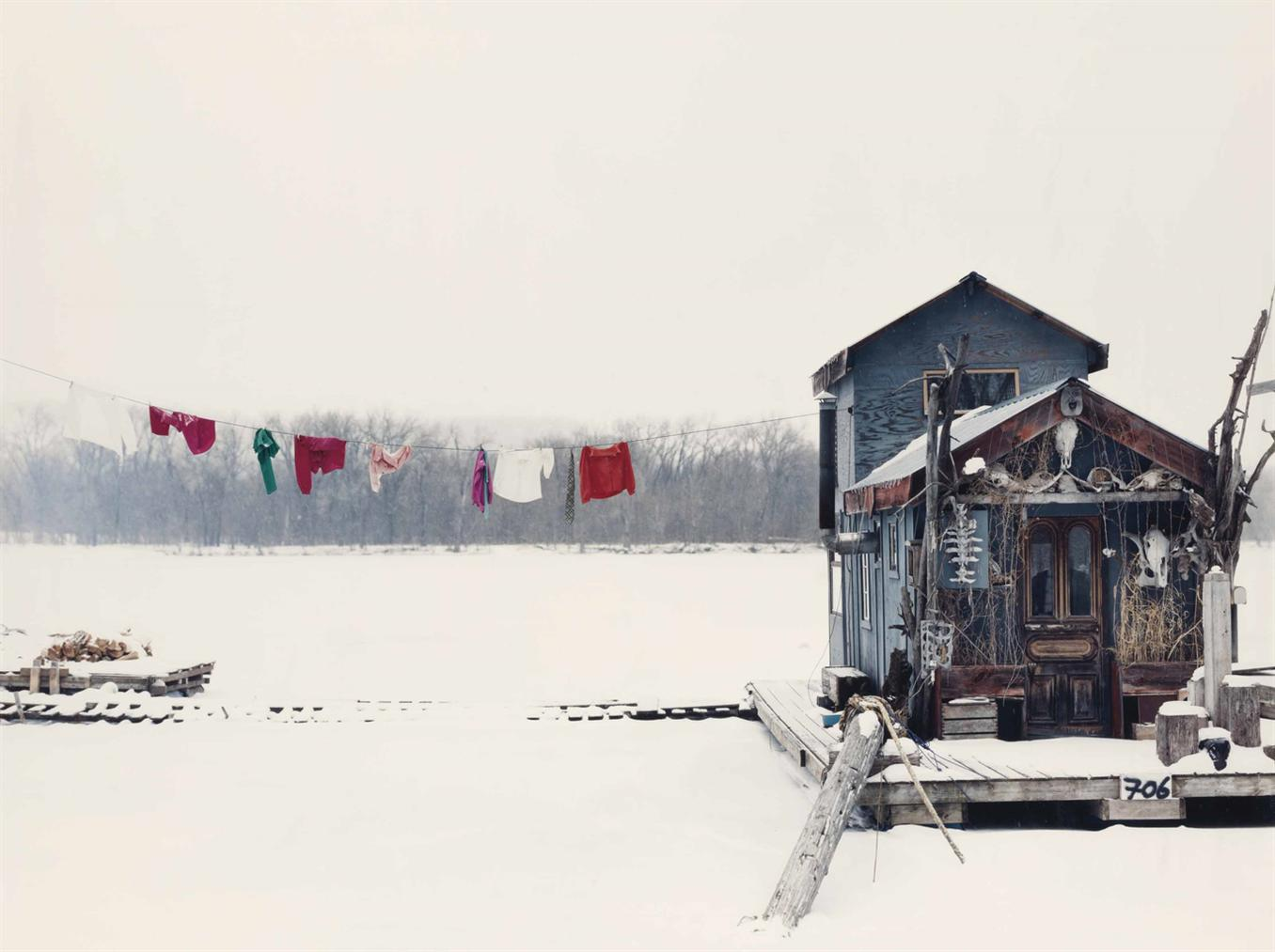 Alec Soth-Peters Houseboat, Winona, Minnesota-2002