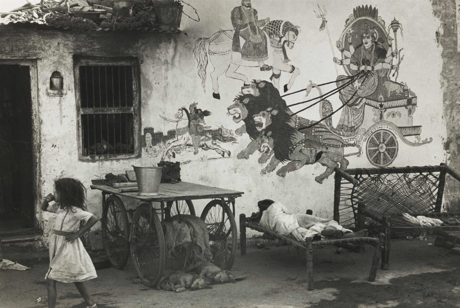 Henri Cartier-Bresson-Ahmadabad, Gujarat, India-1966