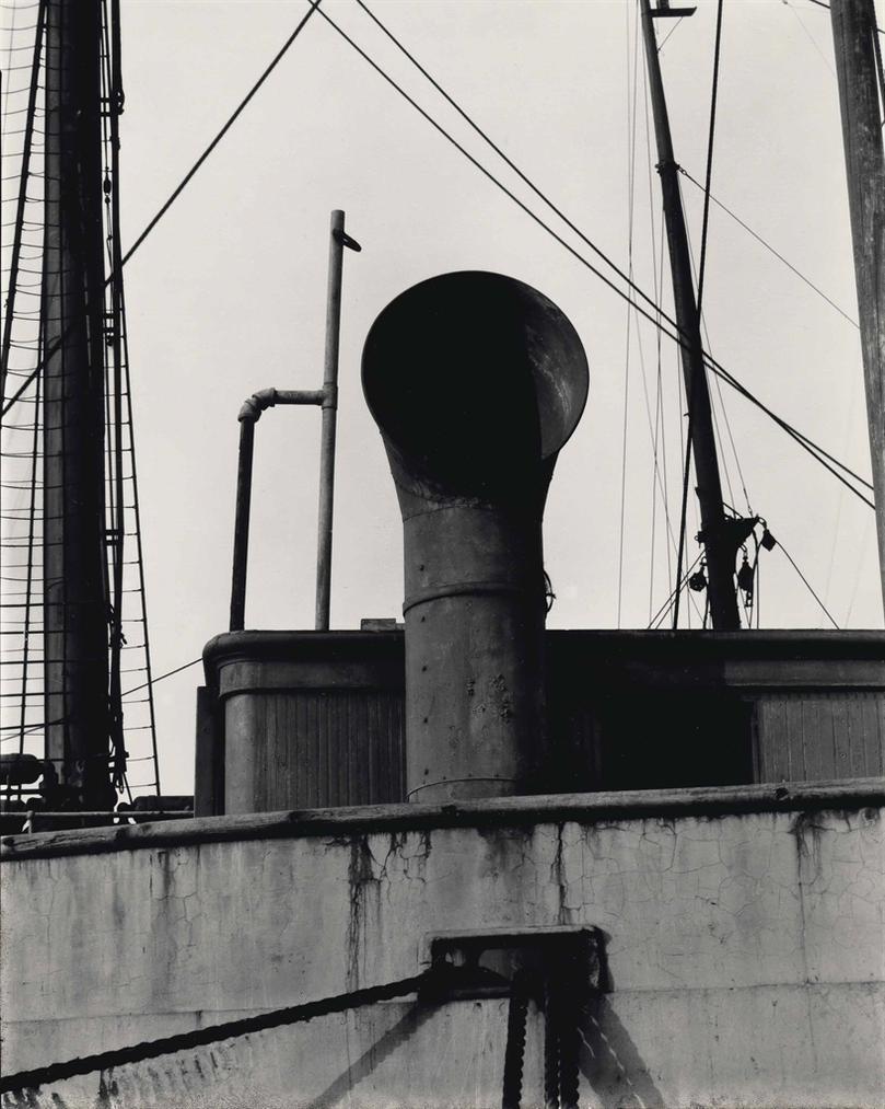 Paul Strand-Ship Abstract, New York-1922