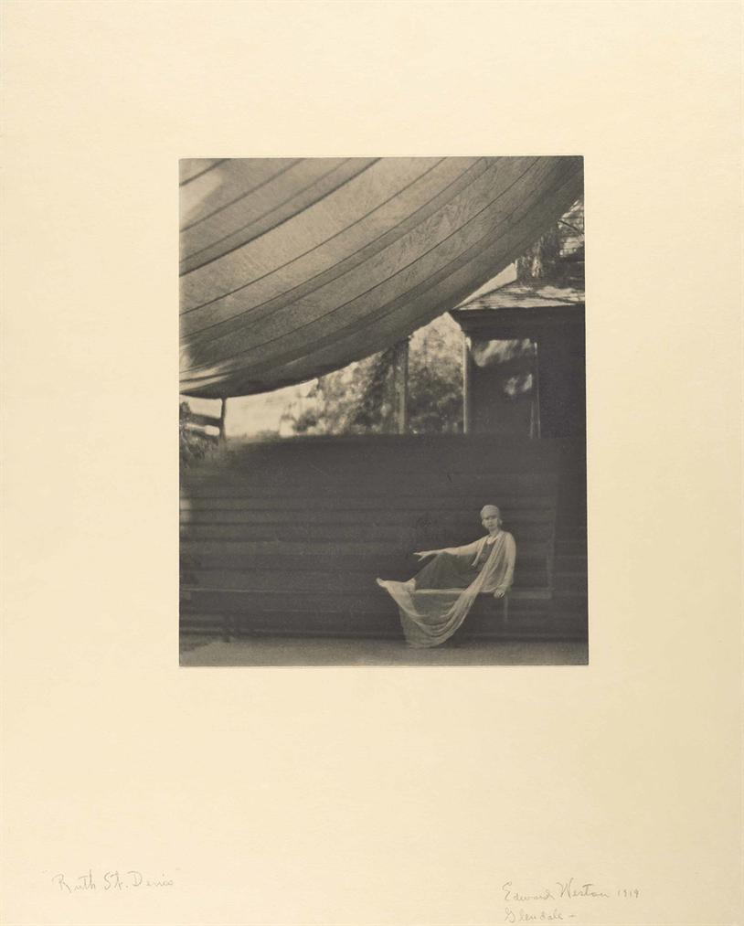 Edward Weston-Ruth St. Denis-1919