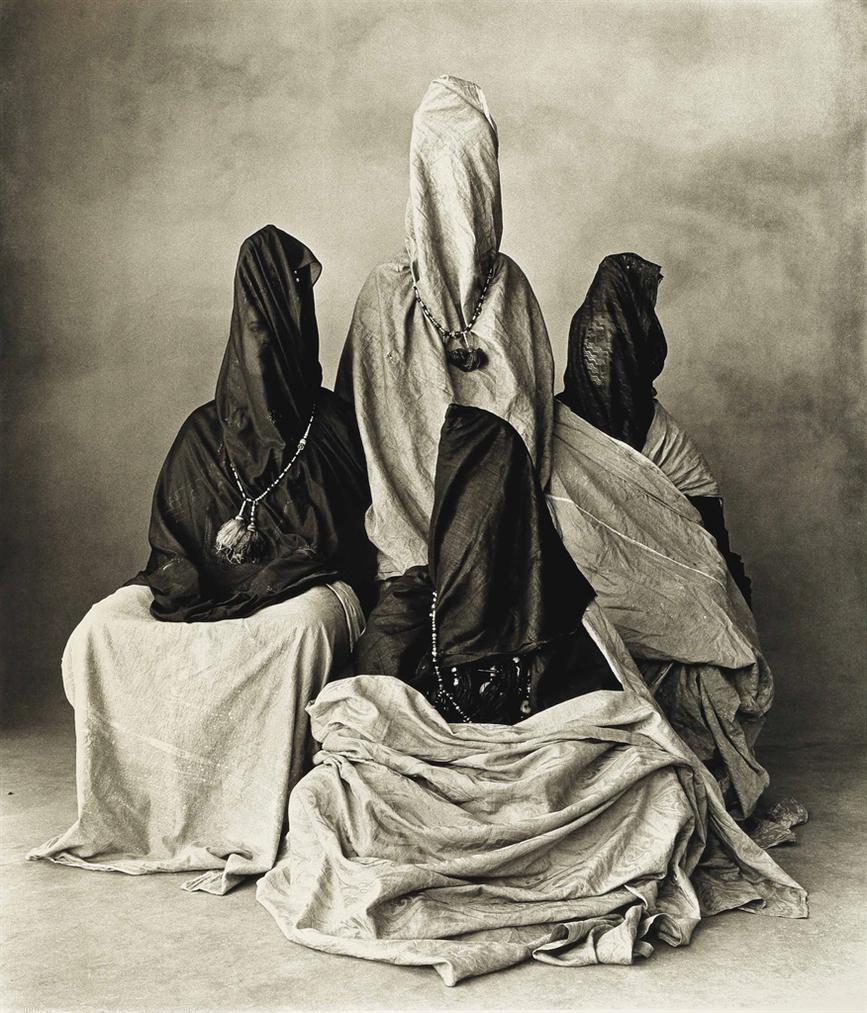 Irving Penn-Four Guedras, Morocco-1971