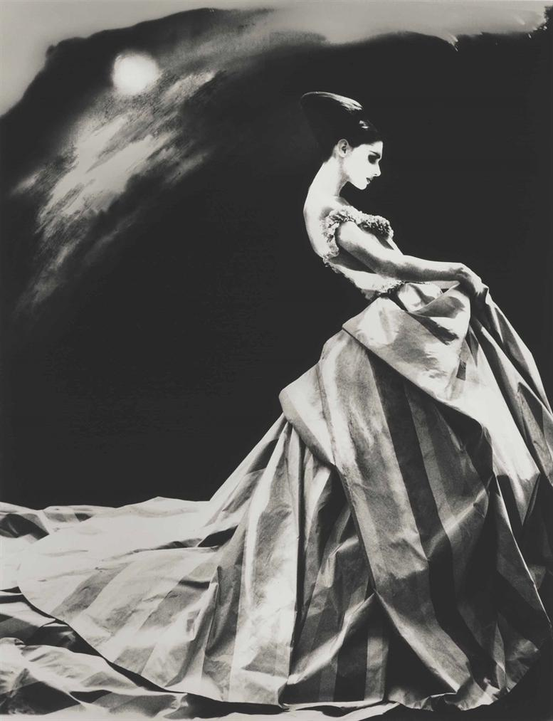 Lillian Bassman-Night Bloom, Anneliese Seubert, Paris-1996