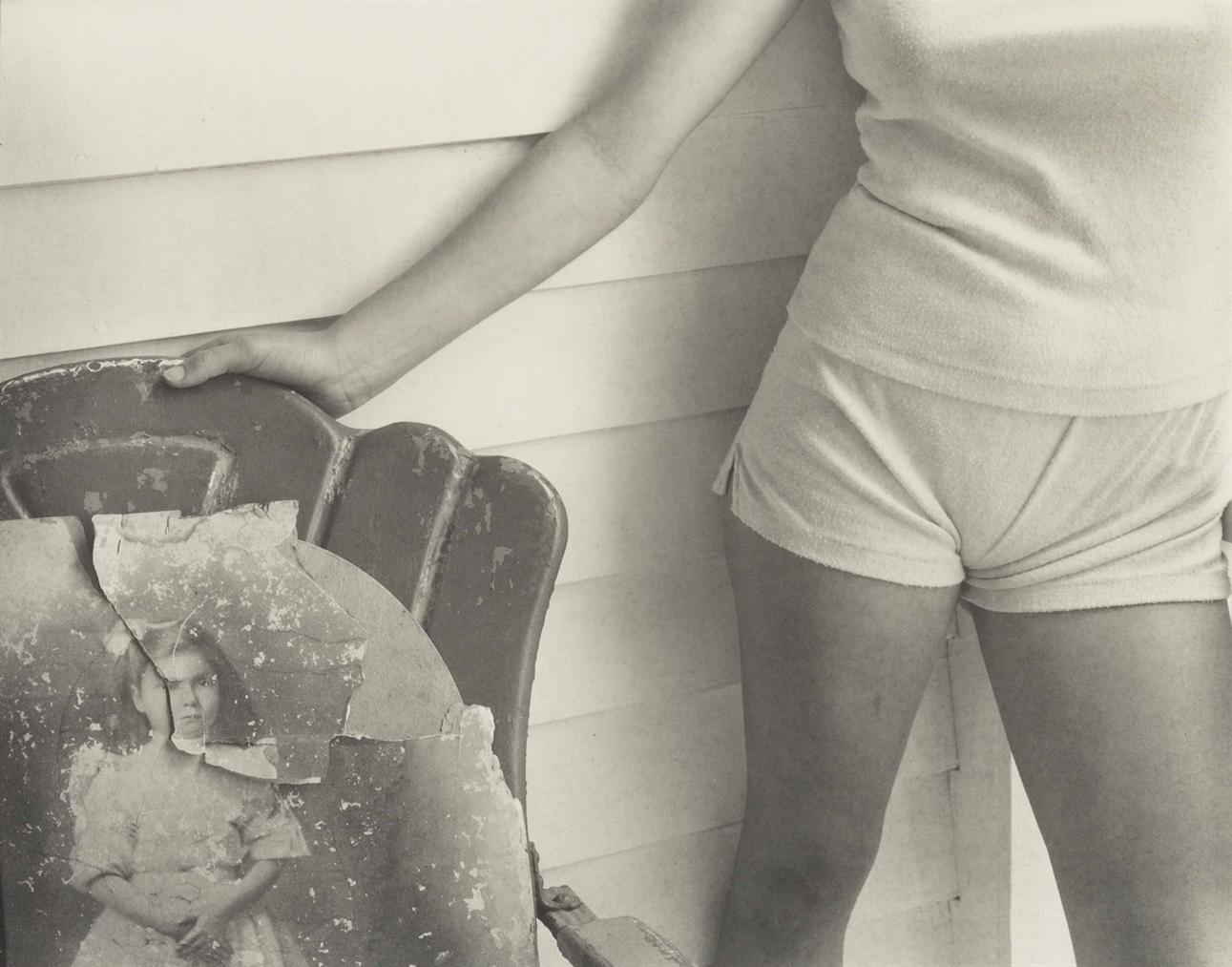 Sally Mann-Sherry And Sherrys Grandmother, Both At Twelve Years Old-1985