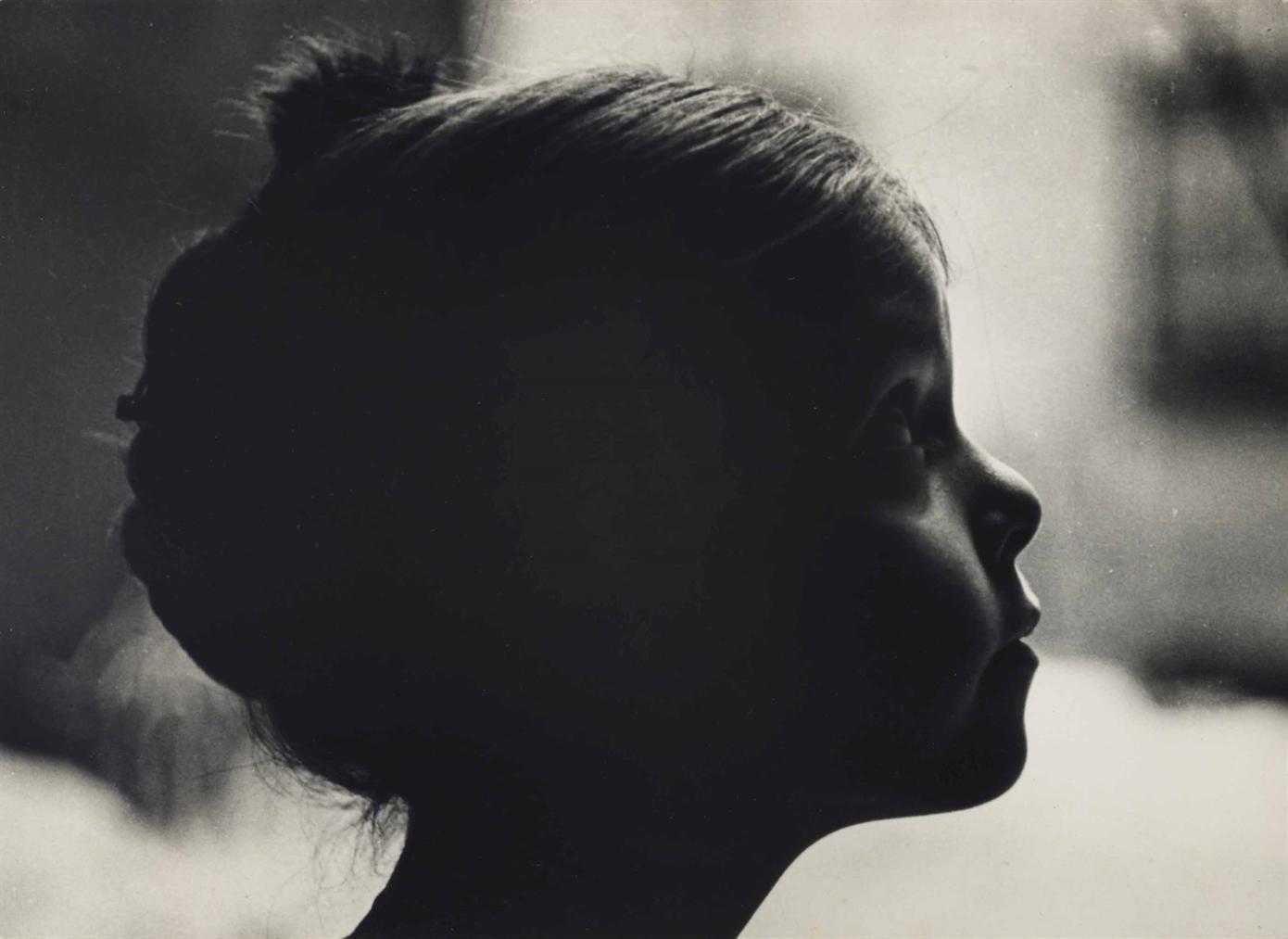 Diane Arbus-Amy Arbus In Profile-1959