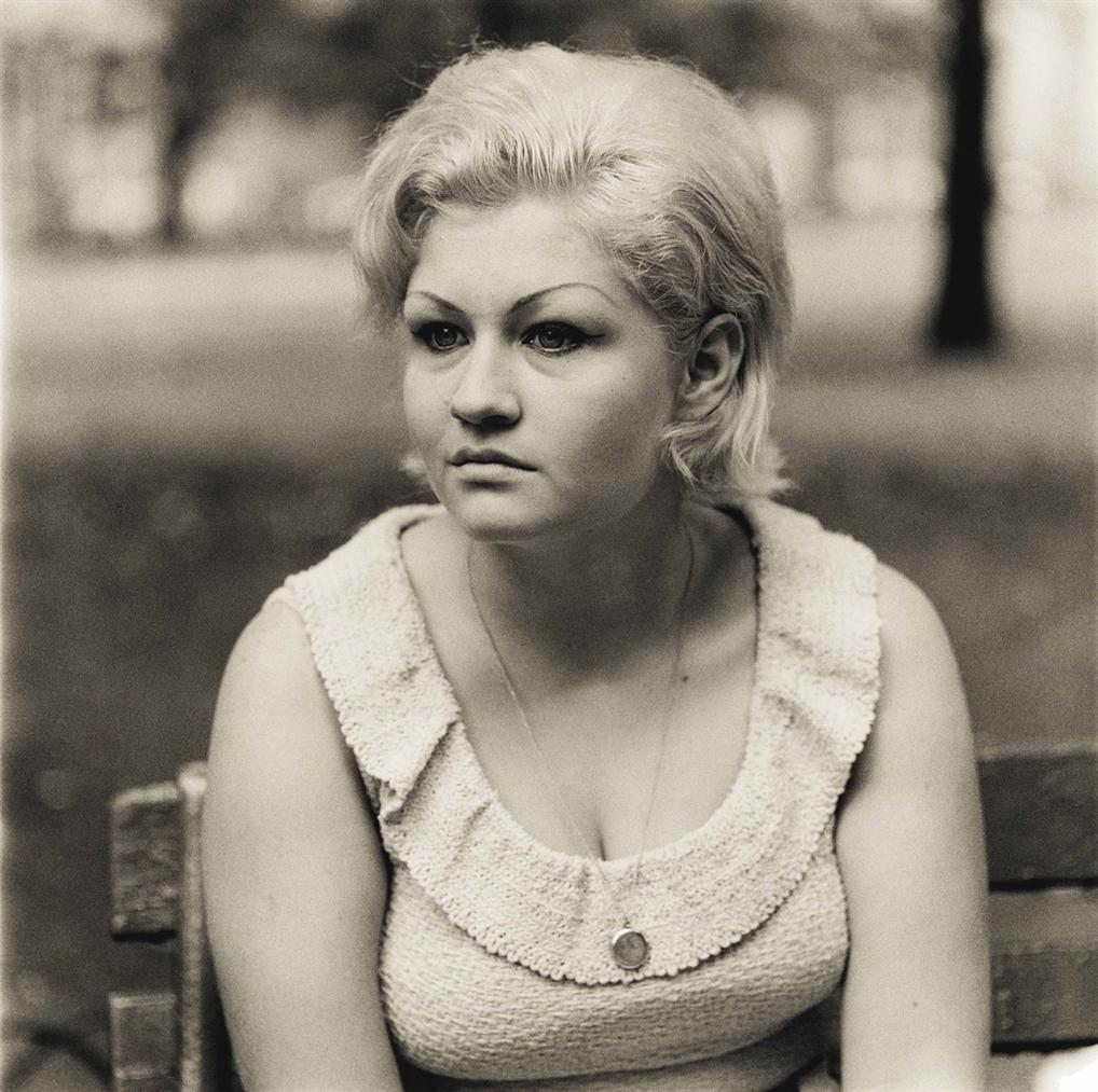 Diane Arbus-Woman With A Locket In Washington Square Park, N.Y.C.-1965