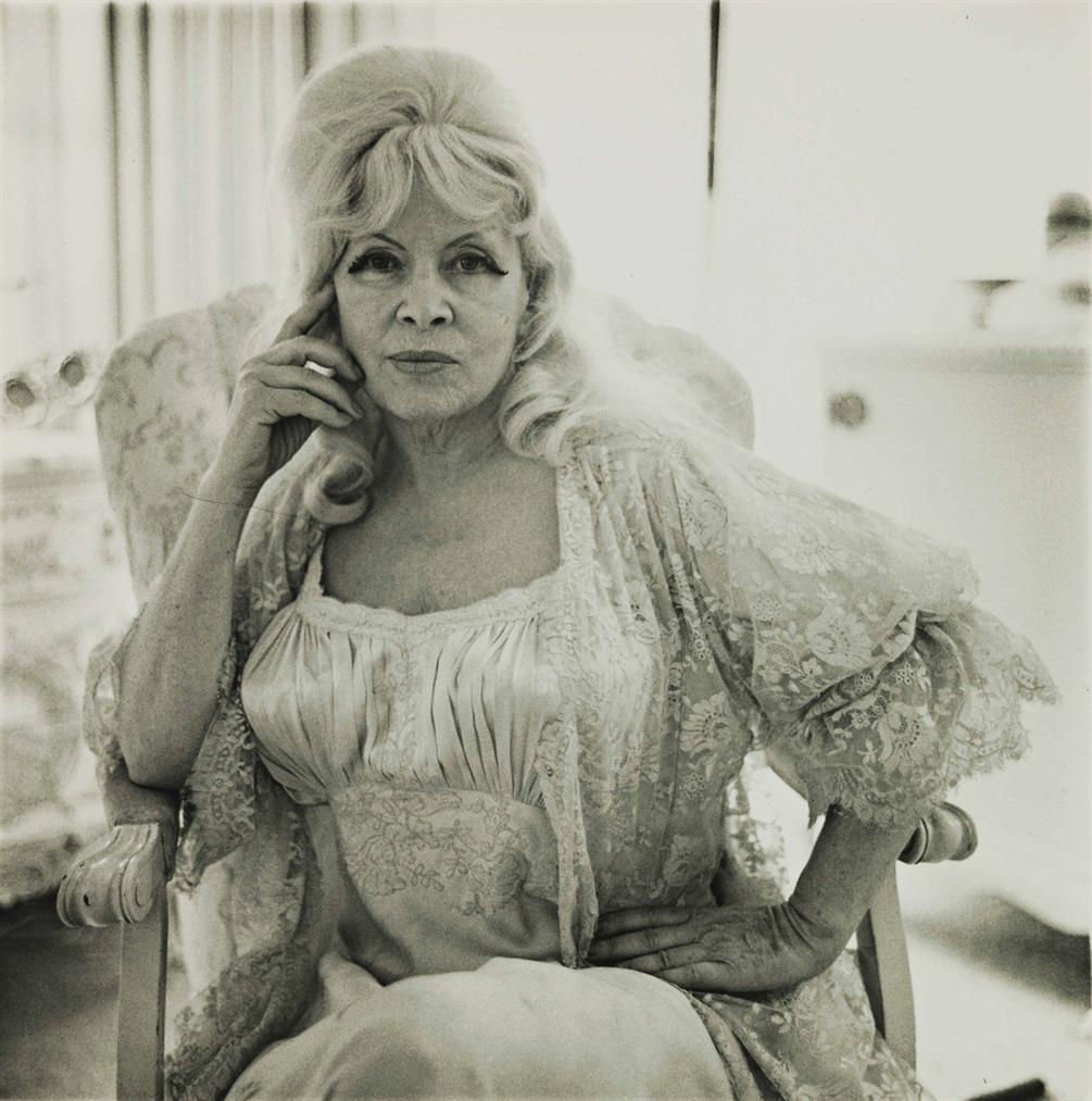 Diane Arbus-Mae West In A Chair At Home, Santa Monica, Cal.-1965
