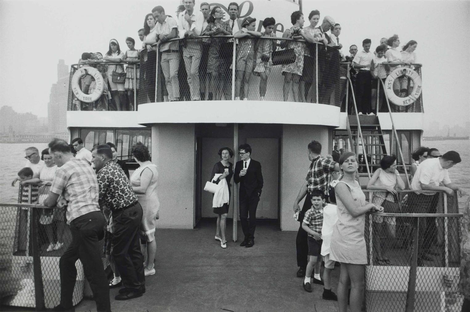 Garry Winogrand-Circle Line Statue Of Liberty Ferry, New York-1971
