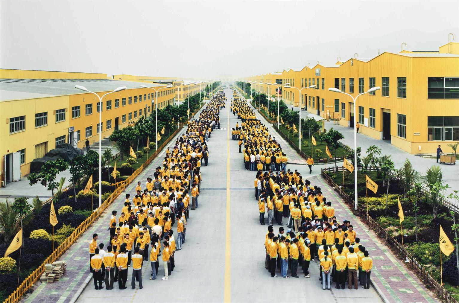 Edward Burtynsky-Manufacturing #18, Cankun Factory, Zhangzhou, Fujian Province, China-2005