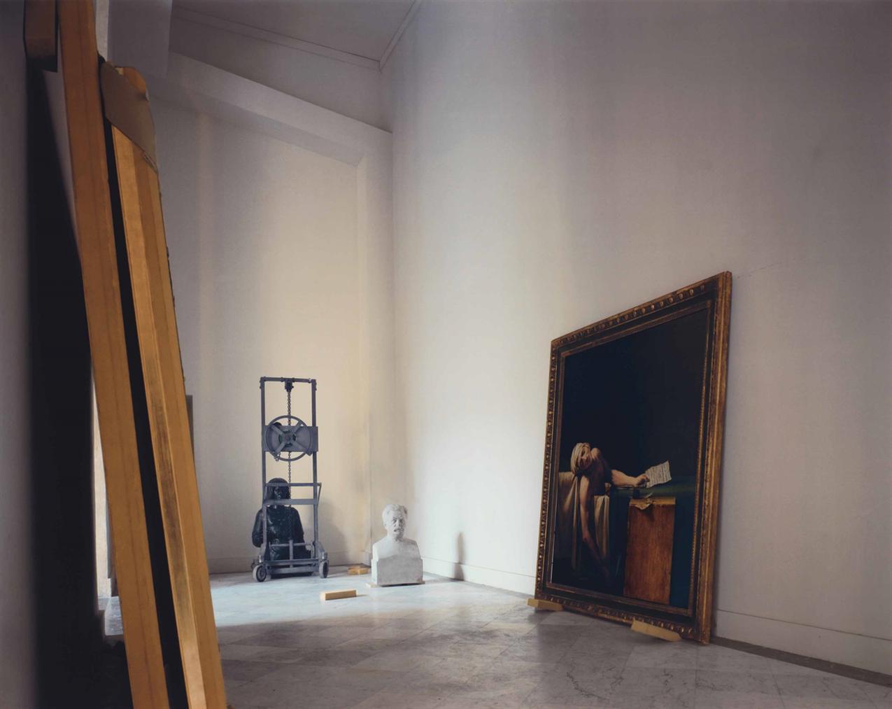 Robert Polidori-Death Of Marat, Rez-De-Chaussee, Versailles-1985