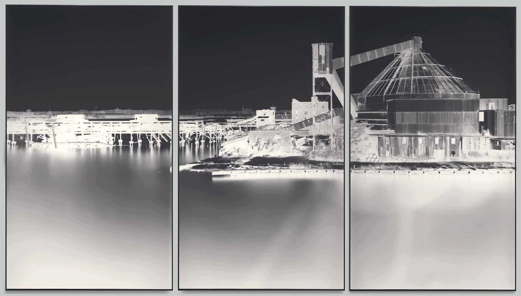 Vera Lutter-Erie Basin, Red Hook, VI: September 17, 2003-2003