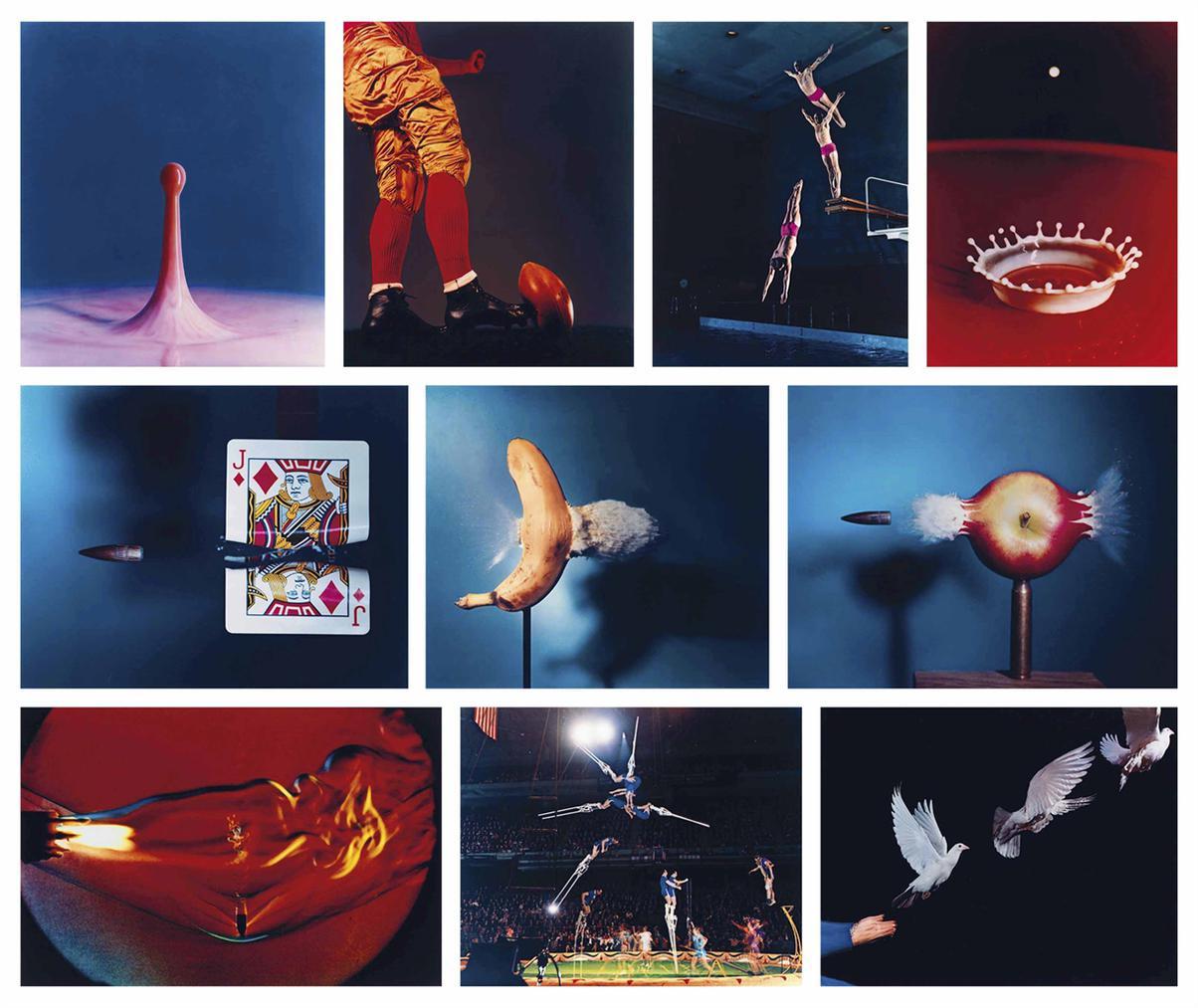 Harold Eugene Edgerton - Ten Dye Transfer Photographs-