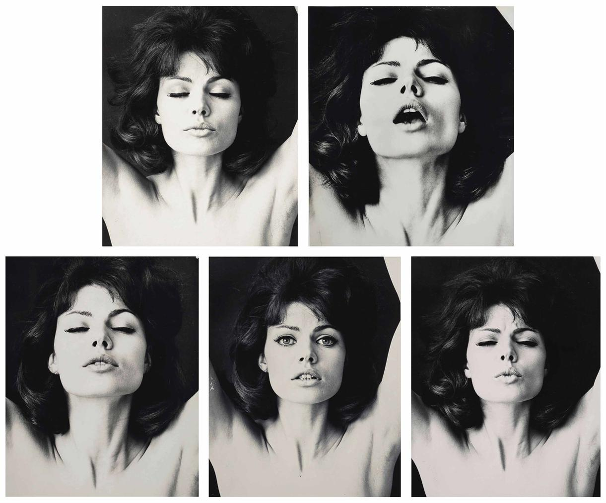 Wingate Paine - Five Portraits Of A Woman-1965