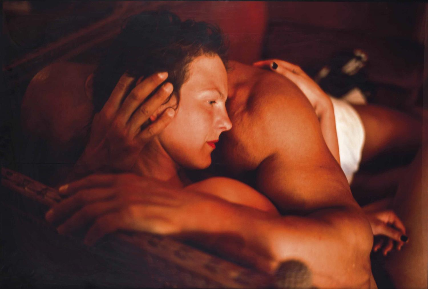 Nan Goldin-Valerie And Gotscho Embraced, Paris-1999