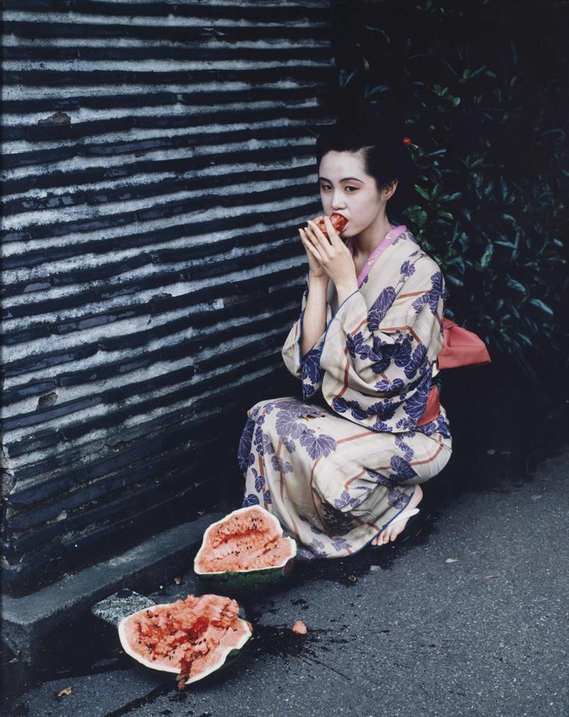 Nobuyoshi Araki-Untitled, From Colourscapes-1991