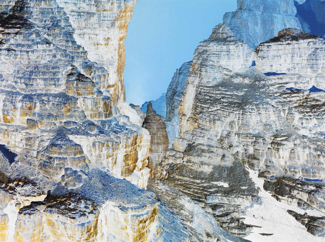 Olivo Barbieri-The Dolomites Project #7, 2010-2010