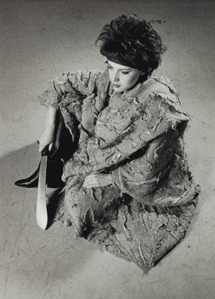 Peter Hujar-Take Me To The River (Susan Manno In Issey Miyake Limited Edition Cape) From, The Twelve Perfect Christmas Gifts From Dianne B.-1983