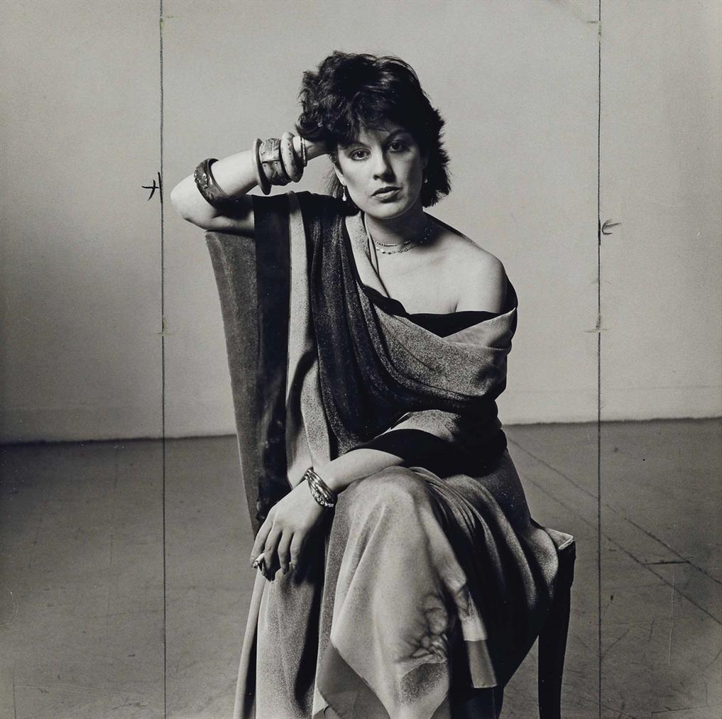 Peter Hujar-Dianne B. In Issey Miyake Silks-1982